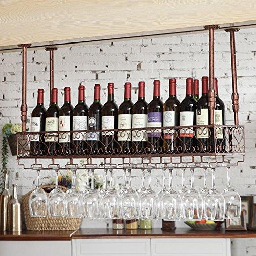 WURE Bar Familie Weingestell Kreative Becherhalter Becherhalter Hängen Eisen Weinkühler Boom Teleskop Wasserdicht/Feuerfest/Feuchtigkeit/Rost/Durable