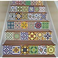 Treppen Fliesenaufkleber Mexikanischen Talavera Innendeko Ideen (Packung  Mit 48)   10 X 10 Cm