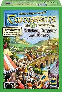 Hans en Suerte ssp48267-Carcassonne: Puentes Castillo y basare Nuevo, Familias estándar Juegos