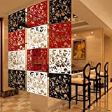 #5: Ocamo Hollow Hanging Screen Modern Butterfly Flower Curtain Room Divider Partition Home Decor