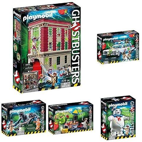 Playmobil - Set de 6 Boites De La Collection Ghostbusters