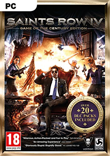 Saints Row IV Game of the Century Edition [PC Code - Steam] (Saint-software)