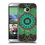 Head Case Designs Mandala Arabeske Muster Soft Gel Hülle für HTC One M8 / M8 Dual SIM