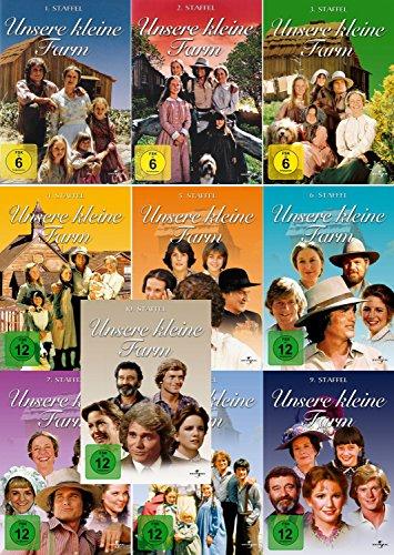 Unsere kleine Farm - Die komplette 1. - 10. Staffel (10-Boxen / 58-Disc) -