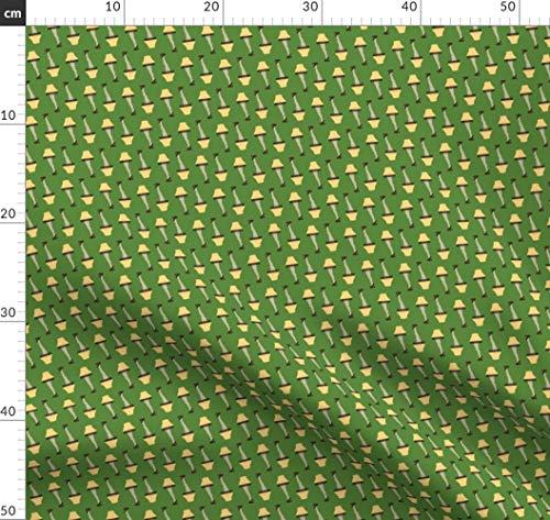Weihnachten, Komisch, Familie, Geschichte, Film Stoffe - Individuell Bedruckt von Spoonflower - Design von Khaus Gedruckt auf Synthetik Jersey