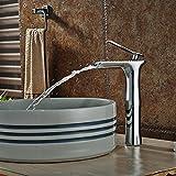 TougMoo Billig Waschbecken Arbeitsplatte Armatur chrom Deck montiert Wasseranschluß