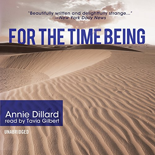For the Time Being  Audiolibri