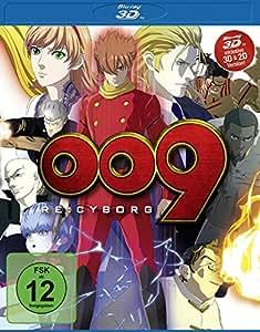 009 Re: Cyborg  (inkl. 2D-Version) [3D Blu-ray]