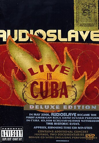 Audioslave - Live in Cuba (DVD + CD)