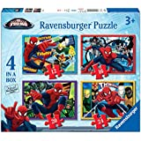 Ravensburger Ultimate Spider-man 4 In A Box Jigsaw Puzzles