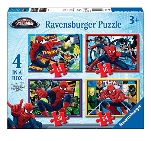 Ultimate Spider-Man - Puzzle 4 en la caja (Ravensburger 07363 4)