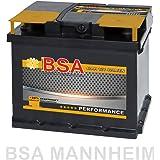 BSA Autobatterie 12V 47AH 400A/EN ersetzt 44Ah 45Ah 50Ah 46Ah 40Ah