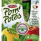 Pom'potes Compotes Pomme Nature, Allégées En Sucres - ( Prix Par Unité ) - Envoi Rapide Et Soignée