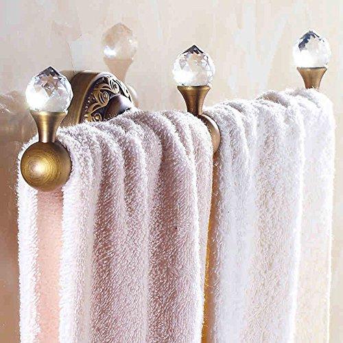 FUFU Barres de Serviette Porte - serviettes à un seul poignet de style européen