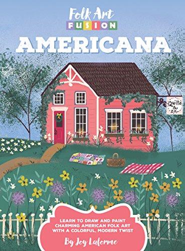 Folk Art Fusion: Americana (English Edition)