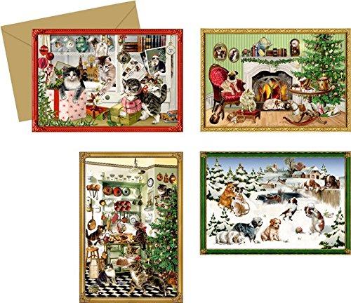 Coppenrath 92687 Navidad Animales, mini-calendario de adviento (sort.)