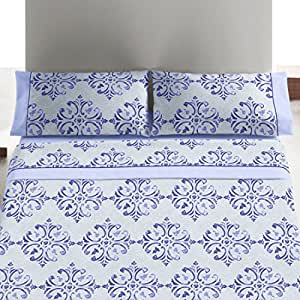 burrito blanco bettw sche 452 f r bett 180 x 190 200 cm blau. Black Bedroom Furniture Sets. Home Design Ideas