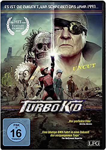 Turbo Kid (Uncut) [Alemania] [DVD]: Amazon.es: Munro Chambers, Laurence Leboeuf, Michael Ironside, Edwin Wright, Aaron Jeffery, Romano Orzari, ...