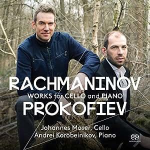 Rachmaninov ; Prokofiev: Works for Cello and Piano