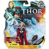 Thor, el Mighty Avenger Deluxe 10cm relámpago Furia figura de acción.