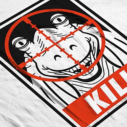 Kill Jarjar Binks Star Wars Men's Vest White
