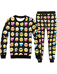 Pijama Emoji Emoticono Confortable Invierno Temporada Moda Mujer Hombre