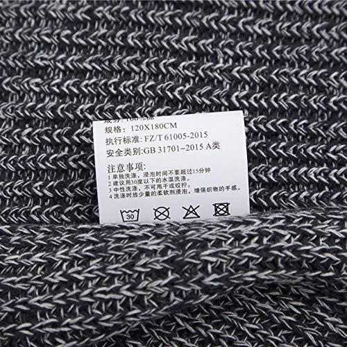 Zoom IMG-3 ainif coperta lavorata a maglia