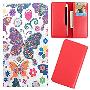 DooDa - For Intex Aqua N2 PU Leather Designer Fashionable Fancy Case Cover Pouch With Card & Cash Slots & Smooth Inner Velvet