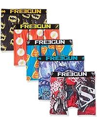 Freegun Justice Leagueboxer Packx5, Boxer Homme