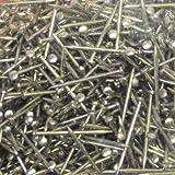 bastelkoerble® Pailletten , Stecknadeln 10 mm - 60gr. silberfarben , basteln