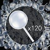 Tomnk 120 Plastiche Pipette a forma di rotonde di Trasferimento(4ml), adatte a fare il cioccolato, la frittella, la fragola, la torta