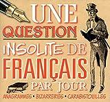 Image de Une question insolite de français par jour 2016