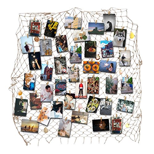 recesky-fishing-net-photo-artwork-hanging-display-family-pictures-children-artwork-and-painting-disp