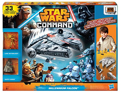 Hasbro A8949EU4 - Star Wars Command Millennium Falcon Set