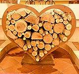 Brennholz Halter Herz