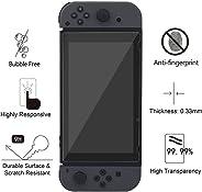 RONSHIN 2 stks HD krasbestendig hardheid 9H Duurzaam gehard glas Screen Protector voor Nintendo Switch