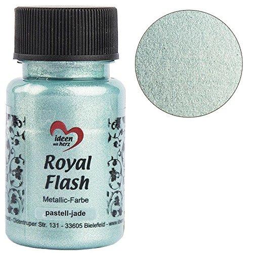 arbe, metallic, mit feinsten Glitzerpartikeln, 50 ml (pastell-jade) ()