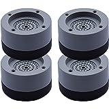 Vvciic Kitchen dream Lot de 4 patins anti-vibrations en caoutchouc antidérapant pour machine à laver et sèche-linge