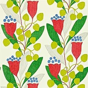 Rouge/Vert - 211655-Bellflower Living-Sanderson-Couleur