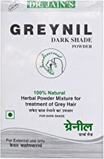 Dr. Jain's byPurenaturals Greynil Dark Shade Herbal Hair Colour Treatment - 100g