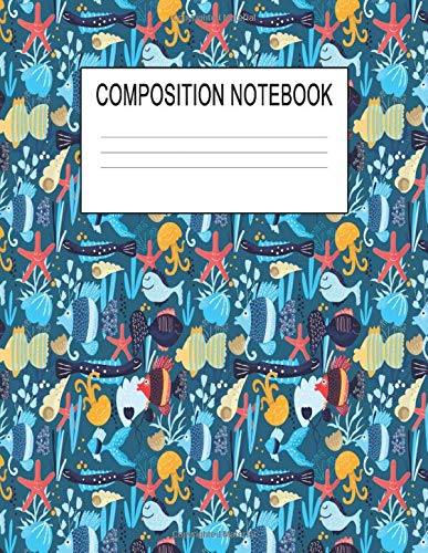 Composition Notebook: 8.5 x 11 College Ruled Journal Paper (Case Rod Ice)
