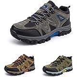 Chaussure Randonnee Hommes Antidérapants Chaussure de Marche Montantes Respirant Trekking Sneakers Basses de Plein Air Legere