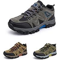 Chaussure Randonnee Hommes Antidérapants Chaussure de Marche Montantes Respirant Trekking Sneakers Basses de Plein Air…
