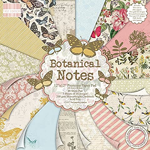 First Edition Botanical papers_p Note