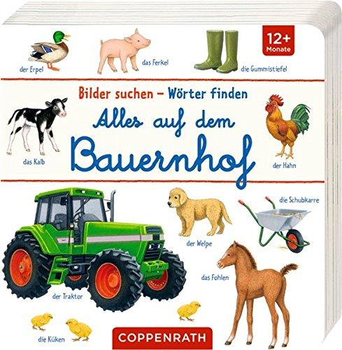 Alles auf dem Bauernhof (Bilder suchen - Wörter finden)