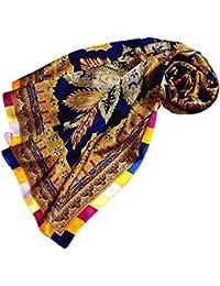 8c4ddcb6778b LORENZO CANA Foulard pour la femme – écharpe à la mode de 100% soie pour