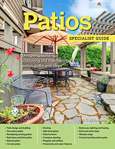 Patios: Designing, Building, Improving, and Maintaining Patios, Paths and Steps (Specialist Guide) - Outdoor Bar Patio Furniture