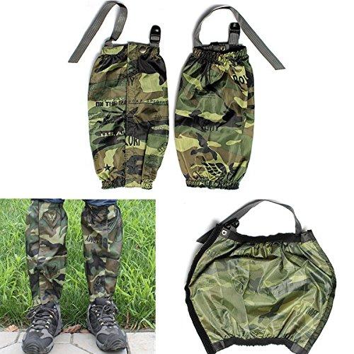 Alamor Imperméable À L'Eau Racing Walking Gaiters Camouflage Bottes Couvertures