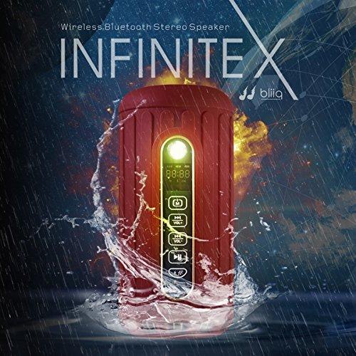 Altavoz Bliiq Infinite X rojo