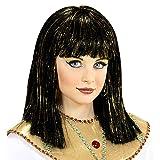 Widmann 74960 Perücke Cleopatra mit Lametta, Girls, One Size